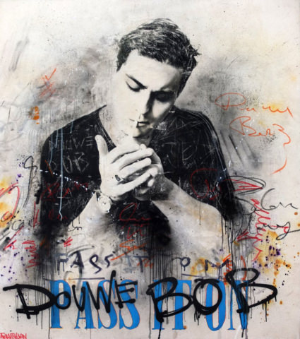 douwe bob Kunstenaar artist nick twaalfhoven popart neopop moderne kunst rock art music art muziek kunst