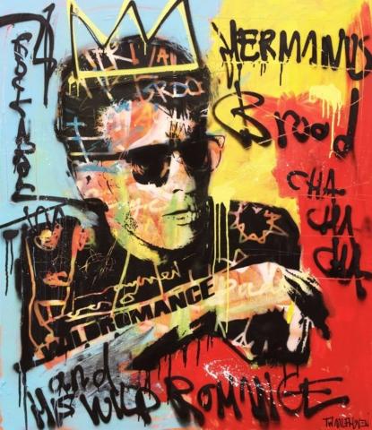 herman brood Kunstenaar artist nick twaalfhoven popart neopop moderne kunst rock art music art muziek kunst
