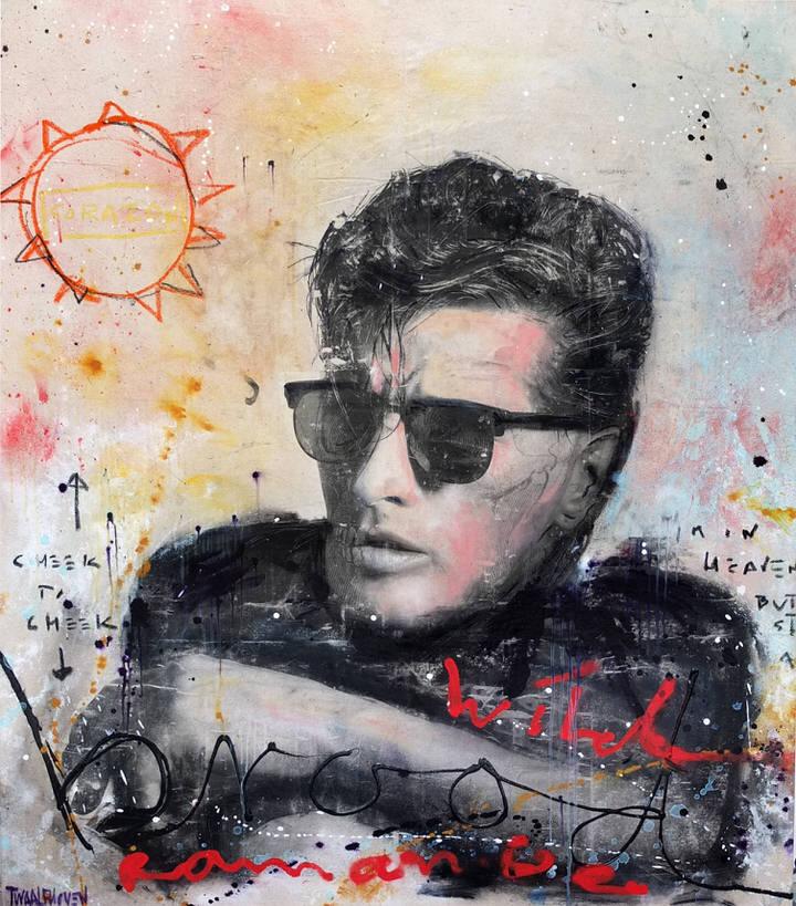 herman brood wild romance Kunstenaar artist nick twaalfhoven popart neopop moderne kunst rock art music art muziek kunst
