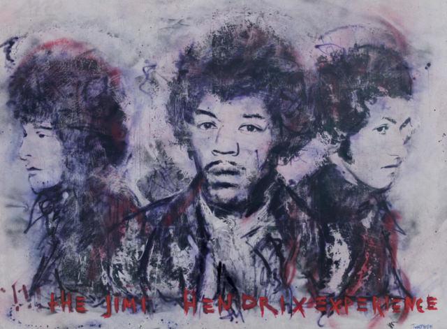 Kunstenaar artist nick twaalfhoven popart neopop moderne kunst rock art music art muziek kunst