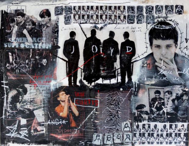 joy division Kunstenaar artist nick twaalfhoven popart neopop moderne kunst rock art music art muziek kunst