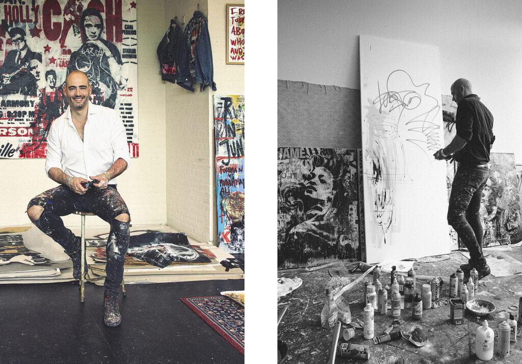 kunstenaar art Nick Twaalfhoven